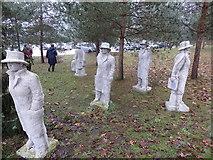 """Skulpturengruppe """"Erwartung"""", Worpswede"""