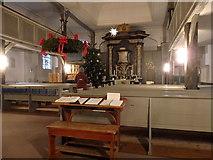 Innenansicht der Zionskirche, Worpswede