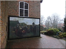 Gemälde-Replika, Zionskirchhof, Worpswede