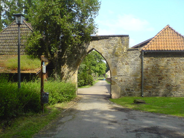 Westliche Klosterpforte, Loccum (Western gate to the abbey, Loccum)