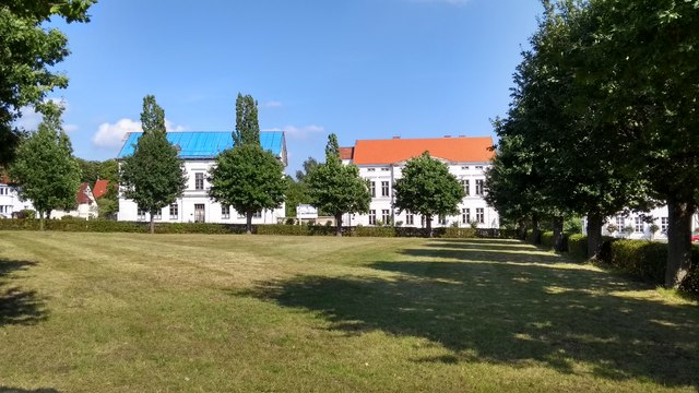 Putbus - houses on the Circus