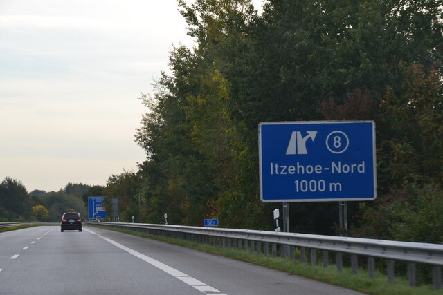 A 23 Itzehoe-Nord 1000 m