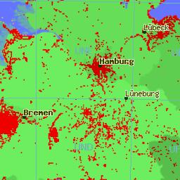 Klickbare Karte