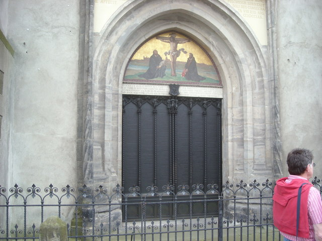 Luther's Door, Wittenberg Cathedral