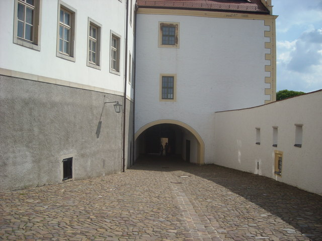 Archway at Colditz Castle