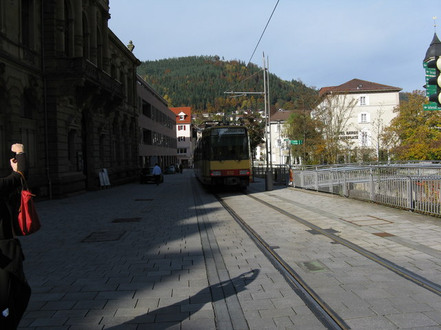 Bad Wildbad, looking north from Kurpark S-Bahn