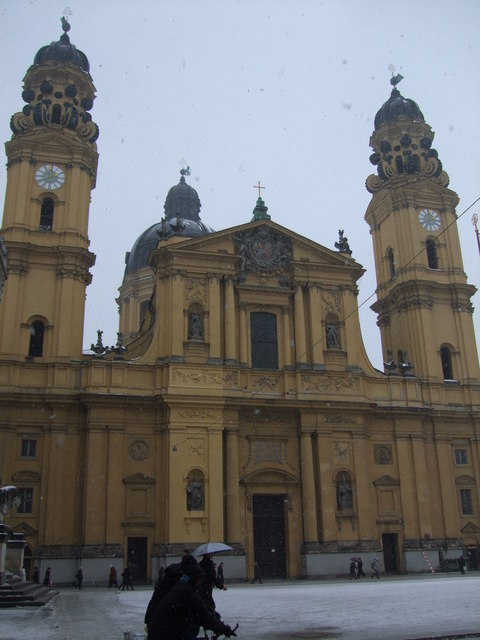 Theatinerkirche (St. Cajetan's Church on Theatinerstrasse, Munich)