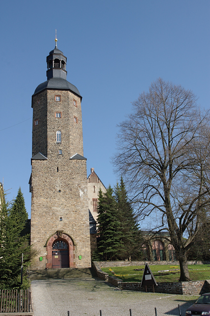 Wachturm in Geyer