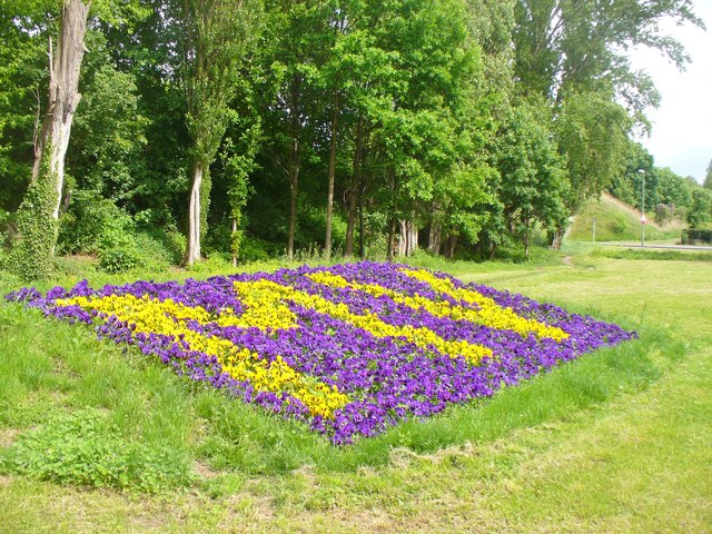 Wittenau -  Blumenbeet (Flower Bed)