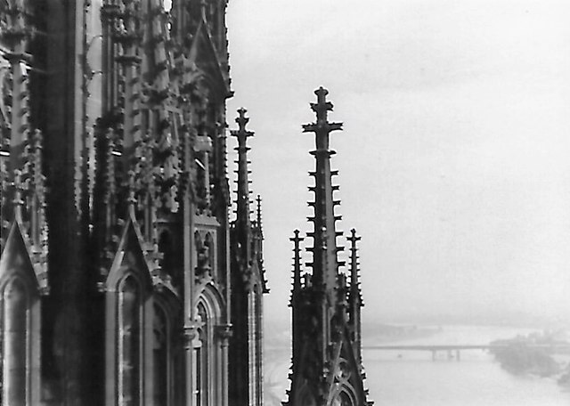 Der Rhein vom Dom aufgennomen (The Rhine from Cologne Cathedral)