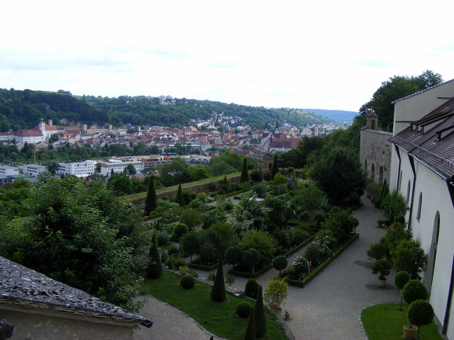 Bastionsgarten an der Willibaldsburg, Eichstätt (Bastion Garden on the Willibaldsburg, Eichstätt)
