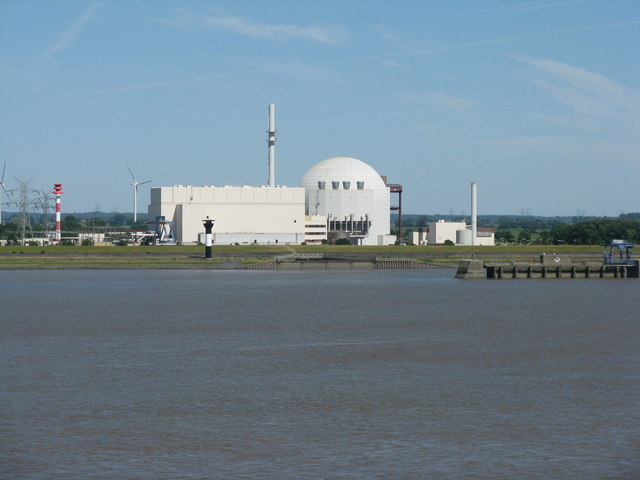 Kernkraftwerk Brokdorf (Power station at Brokdorf)