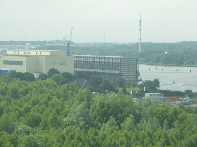 Werft am Nord-Ostsee-Kanal (Shipyard on the Kiel Canal)