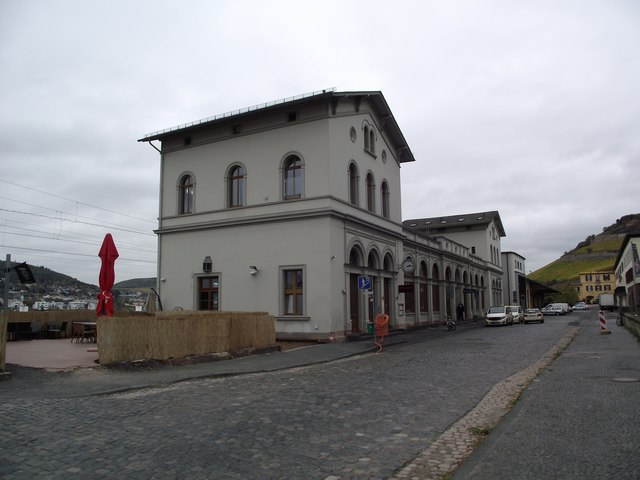 Station building at Rudesheim am Rhein