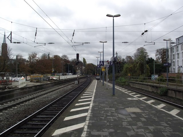 South eastern end of Bonn Hauptbahnhof