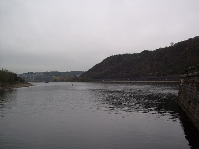 Confluence of the Rivers Rhine and Mosel