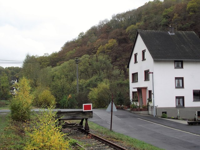The end of the line at Ahrbruck