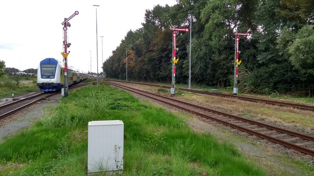Cuxhaven station throat
