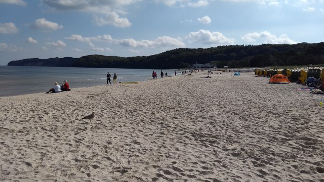 Ostseebad Binz - the beach
