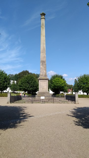 Putbus Circus - the Obelisk