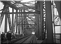 UNF4416 : Hochbrücke Wanderung, Rendsburg 1958 (Walking over the High Bridge, Rendsburg 1958) by Alex Passmore